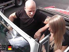 Blonde Blowjob German Teen