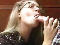 Amateur Blonde Blowjob Cumshot Old and Young