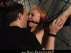BDSM Blonde Bondage Spanking Teen