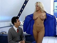 Babe Big Boobs Blonde Blowjob Old and Young