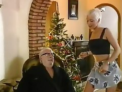 Babe Blonde Blowjob Old and Young Skinny