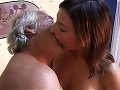 Blowjob Old and Young Small Tits Skinny