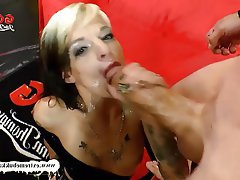 Blowjob Bukkake Facial German MILF