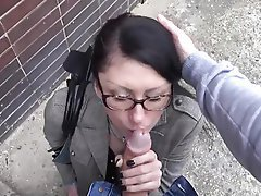 Brunette Hardcore MILF Old and Young Outdoor