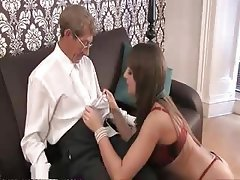 Babe Brunette Hardcore Old and Young