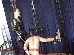 Anal BDSM German Teen Strapon