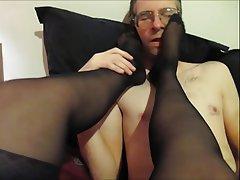 Stockings Femdom British Foot Fetish