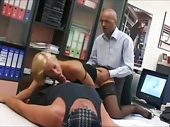 Anal Blonde Cumshot Facial Old and Young