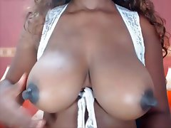 Big Boobs Big Nipples Black