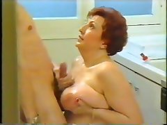 BBW Blowjob Granny Old and Young Vintage