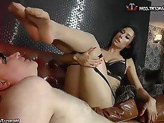 BDSM Stockings Femdom Foot Fetish Mistress