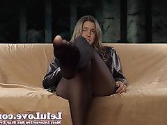 Amateur Brunette Femdom Foot Fetish Big Tits