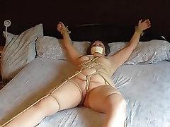 Amateur BBW BDSM French Bondage