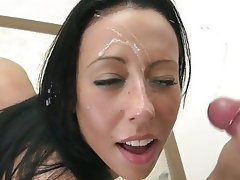 Amateur Cumshot Facial