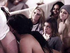 Teen Group Sex Orgy