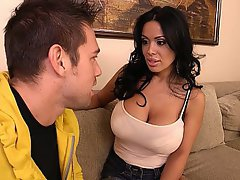 Big Tits Blowjob Brunette Housewife MILF