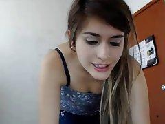 Babe Big Boobs Brunette Masturbation Webcam