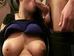 Amateur Blowjob Close Up Cumshot