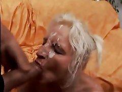 Anal Facial German Mature Threesome