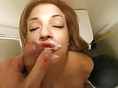 Amateur Blowjob Mature Facial