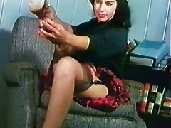 Brunette Stockings Vintage