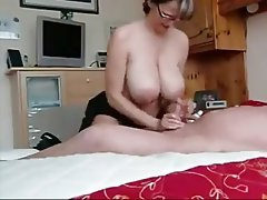 Big Boobs Handjob Mature Old and Young