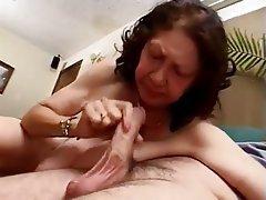 Big Boobs Blowjob Cumshot Granny Old and Young