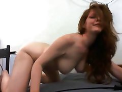 Big Boobs Masturbation Redhead