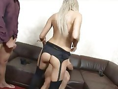 Anal Blowjob Cumshot Double Penetration Threesome