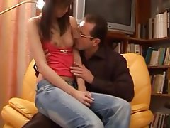 Anal Babe Brunette Old and Young Small Tits