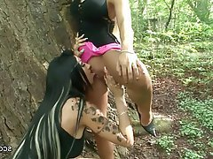 Amateur German Lesbian Outdoor Teen
